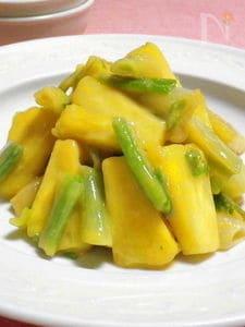 ◆パイナップルとエシャレットのぬた◆