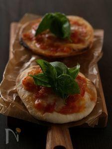 食べたい!から30分 発酵なしもちもちピザ