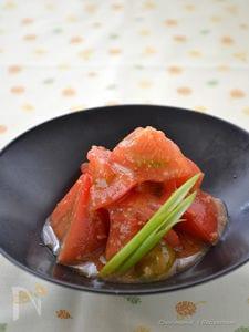 トマトのみそ和え