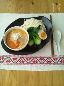 豆乳坦担つけ麺