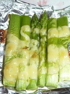 簡単!アスパラマヨ オーブン焼き