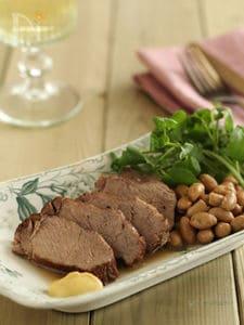 豚肉と大豆のジャスミンティー煮込み