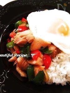 おうちでタイ料理☆ガパオご飯。