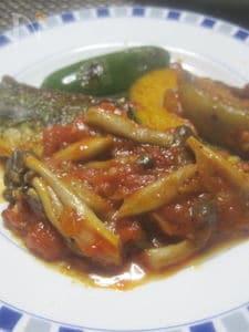 鯖のトマト煮こみ