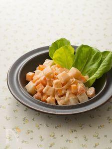 コロコロ長いもの明太サラダ