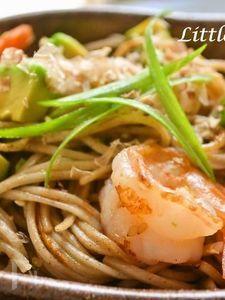 【海老アボカド焼き蕎麦】和がおいしいんです!