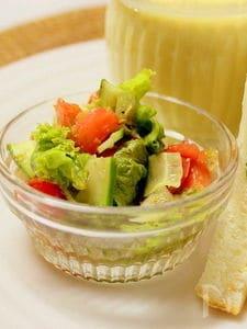 うちのサンドウィッチに添えるサラダ!