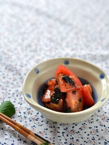 トマトの炙りのりナムル