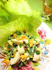 蕪のニース風サラダ
