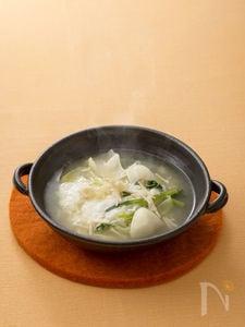 おろし長いものふんわりスープ