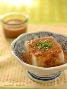 ごまだれ豆腐
