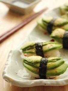 甘辛山椒アボカド寿司