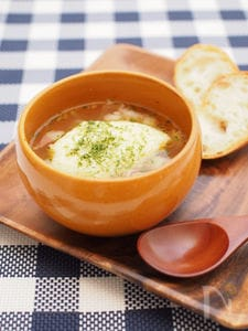 たまごふわふわガーリックスープ