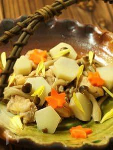 里芋の秋色煮付け