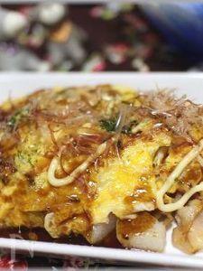 長芋のとんぺい焼き