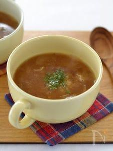 しらすのオニオンスープ
