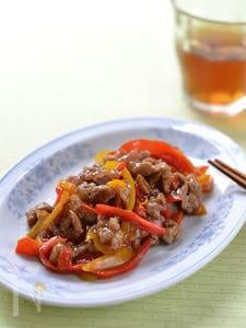 彩り青椒肉絲