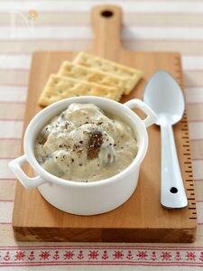 マッシュルームのクリーム煮