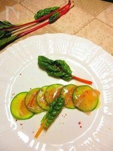 ビタミン大根と生ハムのサラダ 柚子ドレッシング