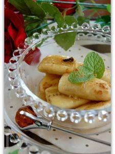 バナナのメープル煮