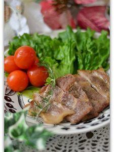 豚ロースのハーブマリネ