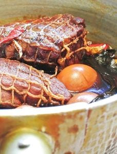 焼豚と煮卵