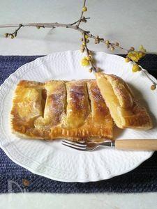 安納芋のスイートポテトアップルパイ
