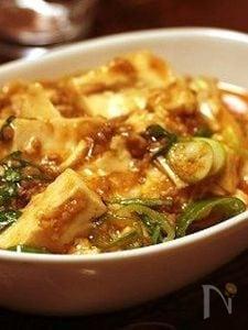 ピリッと山椒入り麻婆豆腐