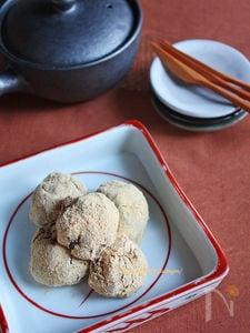 もちもちきな粉あんころ餅