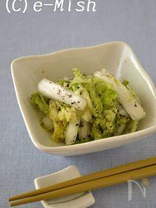 白菜のナムル