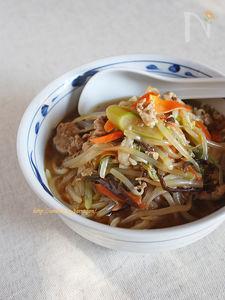 横浜名物しゃきしゃきサンマー麺
