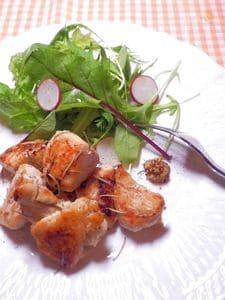 鶏むね肉の塩麹&ローズマリー焼き
