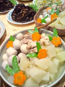 大根と里芋の炊いたん