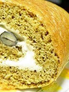 黒豆きなこのロールケーキ