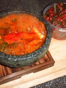 グツグツ石鍋スンドゥブチゲ