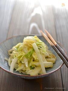 白菜のシンプルサラダ