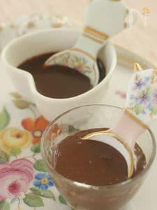 お肉と合わせるチョコレートソース