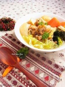 たっぷり野菜とチキンの塩ポトフ