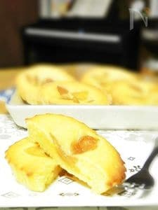 りんごとレモンのマドレーヌ
