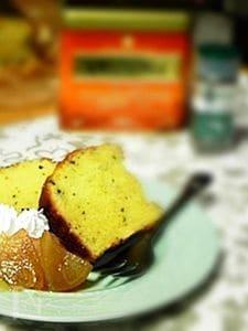ミントの香りが嬉しいパウンドケーキ