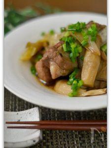 スペアリブときのこの中華煮