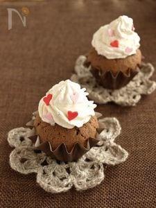 デコチョコカップケーキ