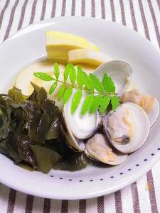 ◆ハマグリと若竹煮◆ 手軽に旬の味