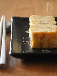 甘い卵焼き。
