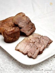 蒸し焼き豚