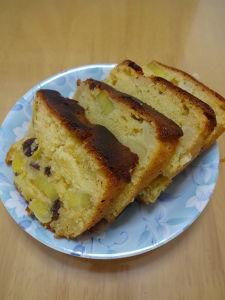 メープル香る りんごとおいものケーキ