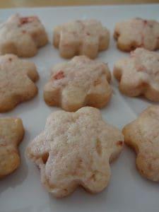 さくさく苺クッキー