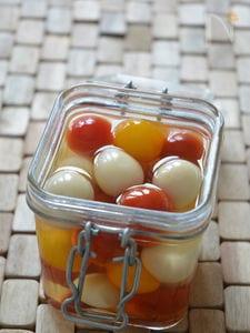 うずらの卵とミニトマトのピクルス(たまごピクルス)