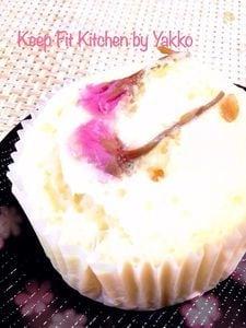 酒粕香る桜蒸しパン