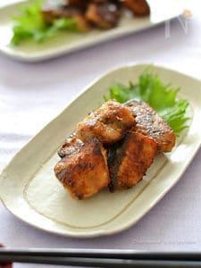 ブリの味醂揚げ焼き